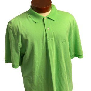 BROOKS BROTHERS Mens Geen Polo Top Size L